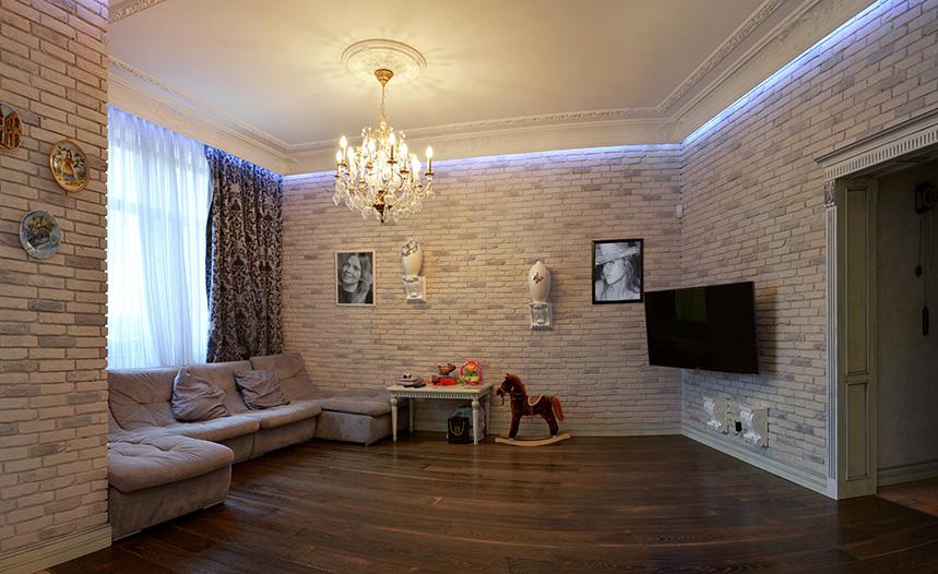 Ремонт квартир в Москве под ключ с высоким качеством по